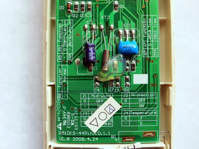 系列空调遥控器拆解
